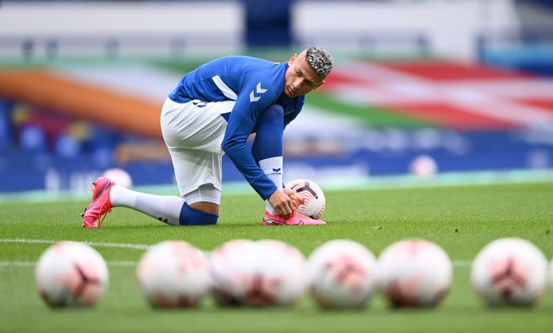 Richarlison, Pickford apologise to Liverpool duo after heavy tackles