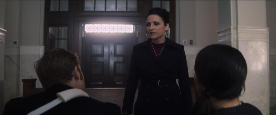 Julia Louis-Dreyfus made her Marvel Cinematic Universe debut in 'The Falcon and the Winter Soldier' before appearing in 'Black Widow' (Photo: Disney+/Twitter)