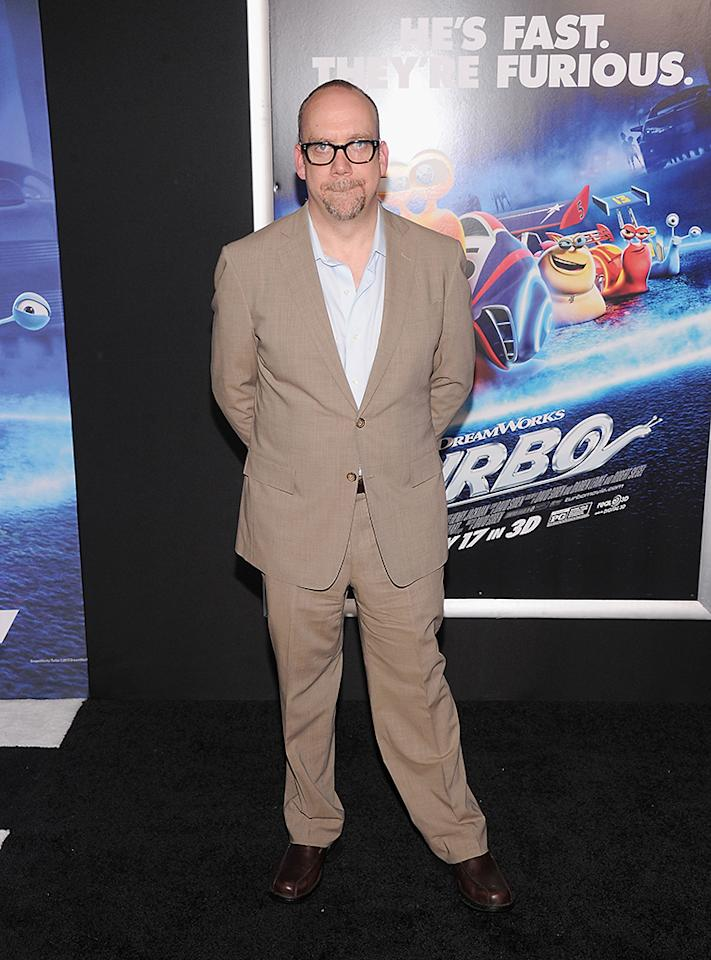 "NEW YORK, NY - JULY 09:  Paul Giamatti attends the ""Turbo"" New York Premiere at AMC Loews Lincoln Square on July 9, 2013 in New York City.  (Photo by Jamie McCarthy/WireImage)"