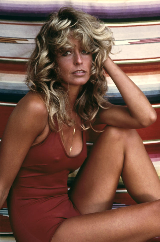 Farrah Fawcett, 1976. (Photo: ©1978 Bruce McBroom; MPTV)