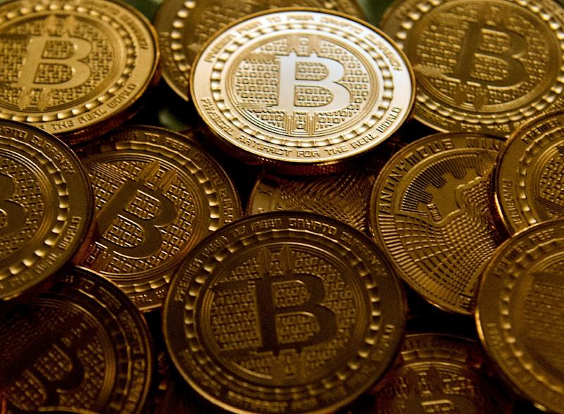 Bitcoin plunged 18 percent after South Korea said it was preparing to shut down cryptocurrency exchanges in the country (AFP Photo/Karen BLEIER)