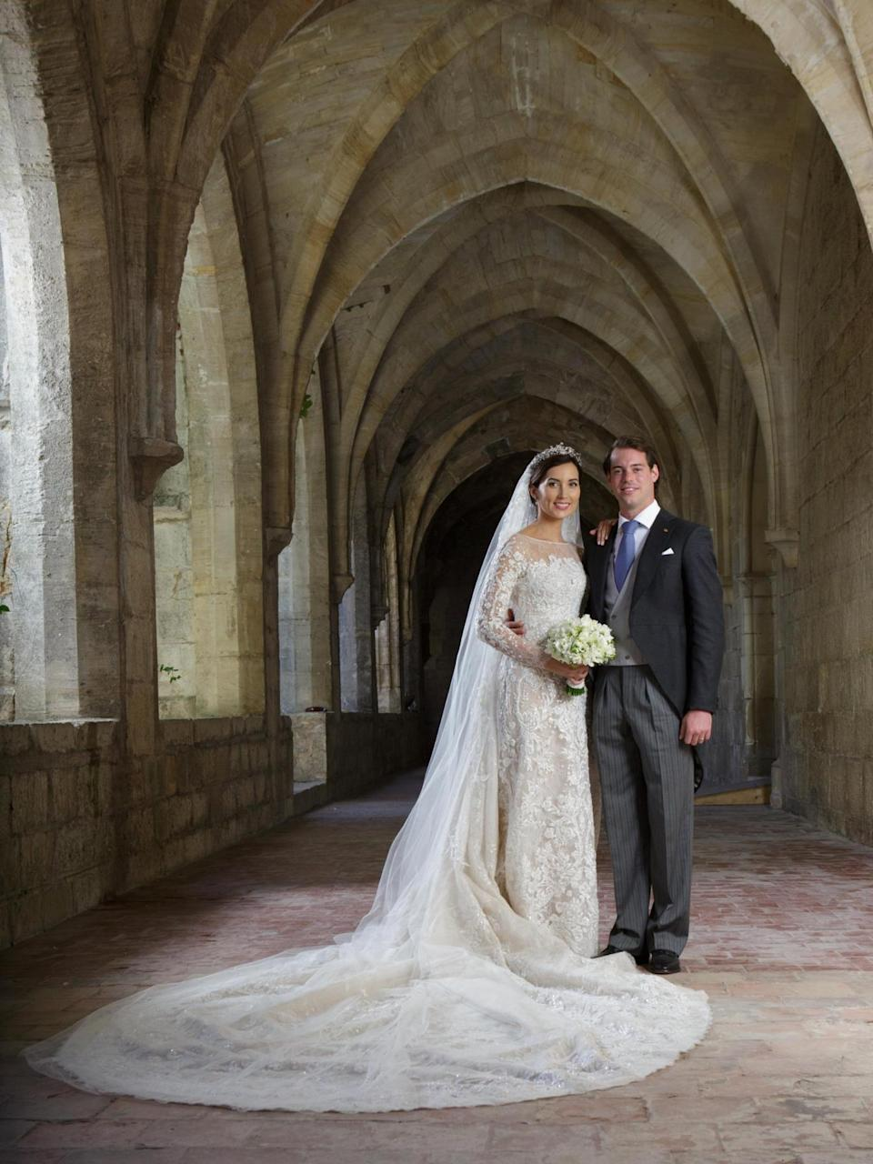 Princess Claire Of Luxembourg on her wedding day in 2013 (Getty Images)