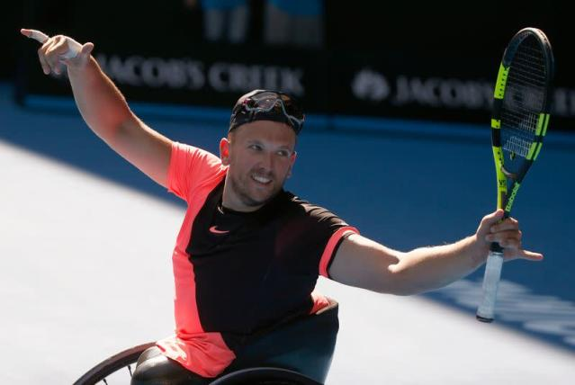 Tennis - Australian Open - Quad wheelchair singles final - Rod Laver Arena, Melbourne, Australia