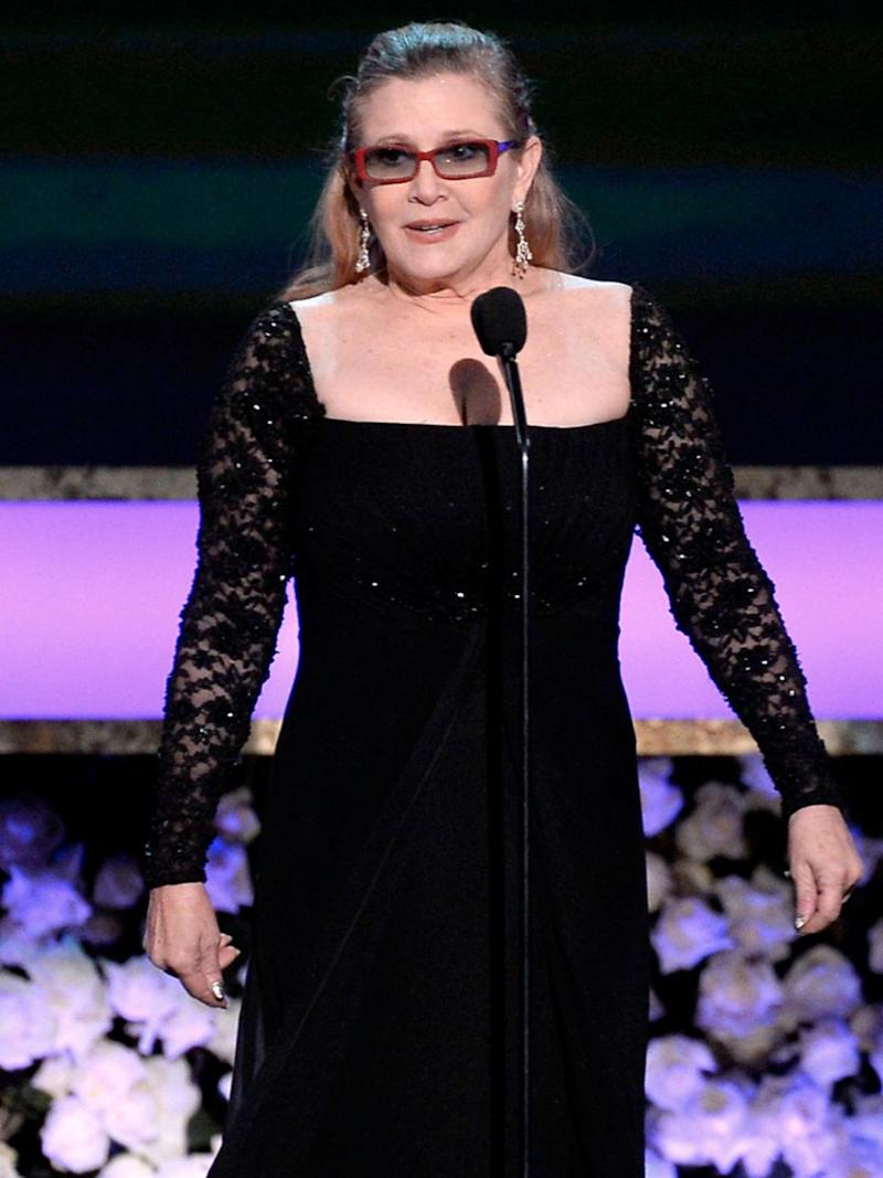 She was most famous for her role in Star Wars. Photo: Getty
