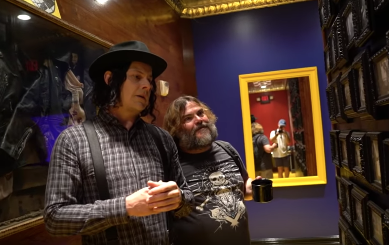 Jack White and Jack Black Tease New Music Together