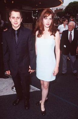 Premiere: Giovanni Ribisi and Mariah O'Brien at the Westwood premiere of Dreamworks' Saving Private Ryan - 7/21/1998