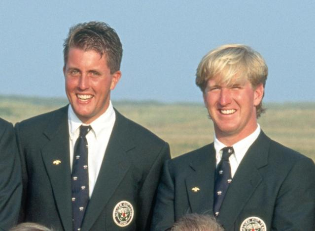 In the lone Walker Cup appearance for each of these future major winners, Mickelson compiled a 3-1 record at Poirtmarnock, and Duval went 2-1.