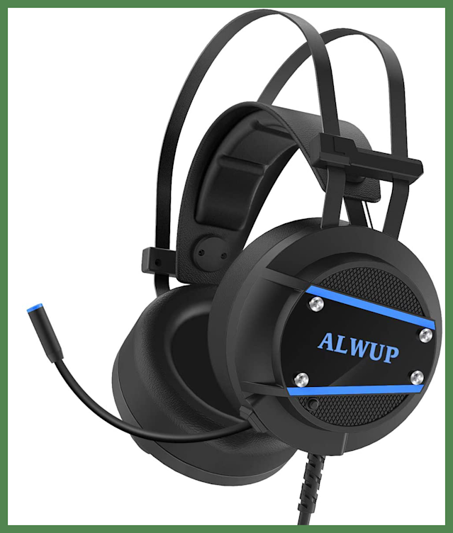 For Prime members only: Save $6 on this ALWUP A9 Gaming Headset. (Photo: Amazon)