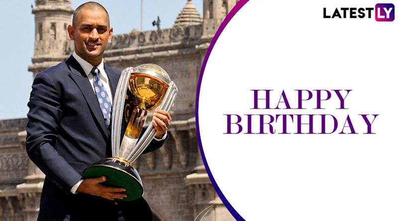 MS Dhoni Fans Storm Twitter As Former India Captain Celebrates his 39th Birthday