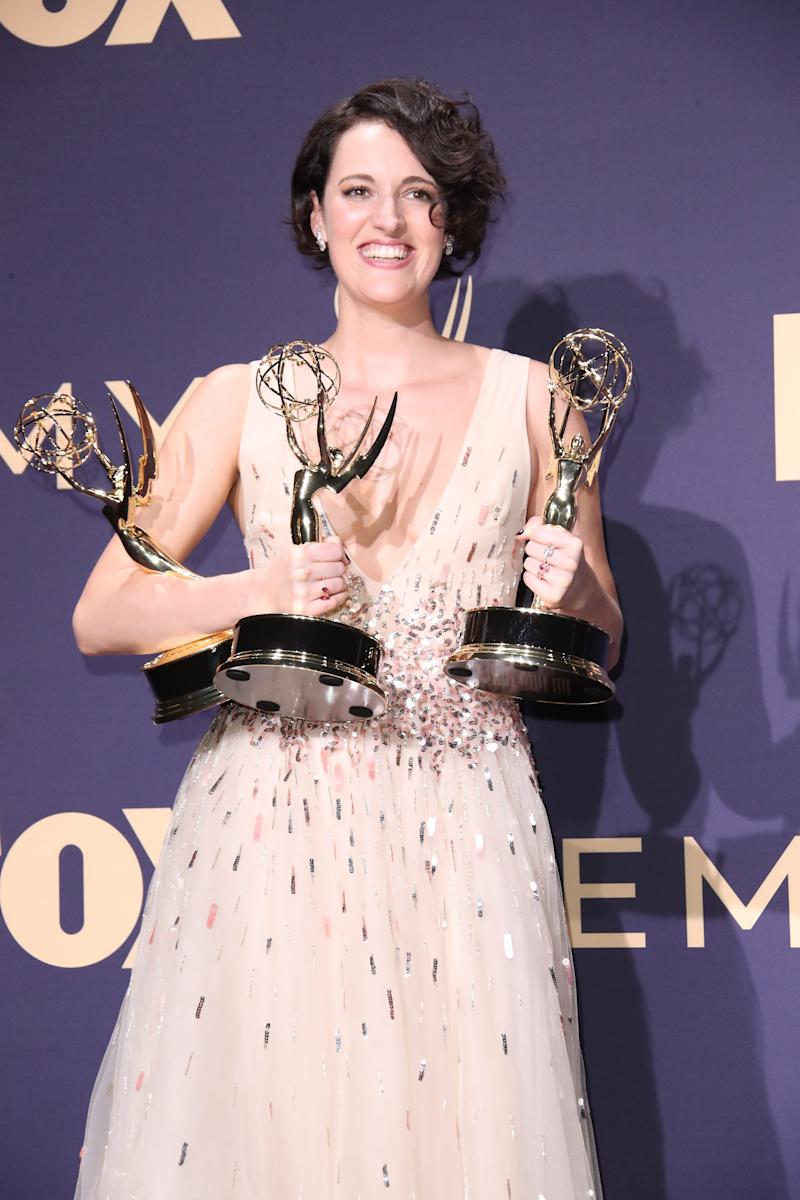 Phoebe Waller-Bridge walked off with an armful of Emmys for her Amazon series, 'Fleabag.'