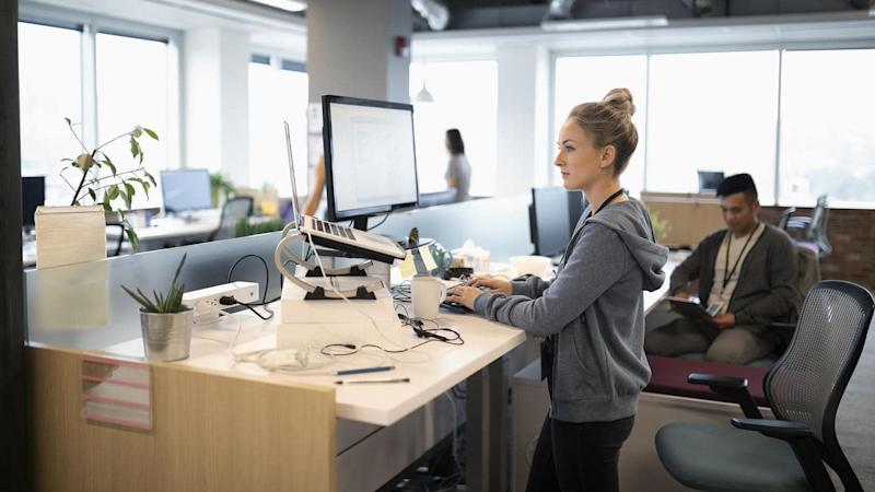 #HealthBytes: Benefits of working on a standing desk