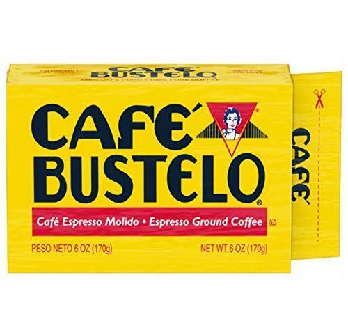"""<p><strong>Cafe Bustelo</strong></p><p>Cafe Bustelo</p><p><strong>$47.91</strong></p><p><a href=""""https://www.amazon.com/dp/B00R92UXYK?tag=syn-yahoo-20&ascsubtag=%5Bartid%7C1782.g.33013485%5Bsrc%7Cyahoo-us"""" rel=""""nofollow noopener"""" target=""""_blank"""" data-ylk=""""slk:BUY NOW"""" class=""""link rapid-noclick-resp"""">BUY NOW</a></p><p>You know it. You love it. Go with it.</p>"""