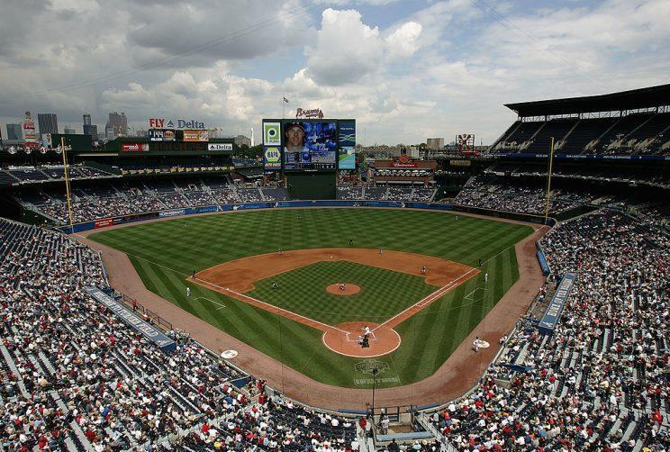 A look at Turner Field during baseball days. How many differences can you spot? (Getty)