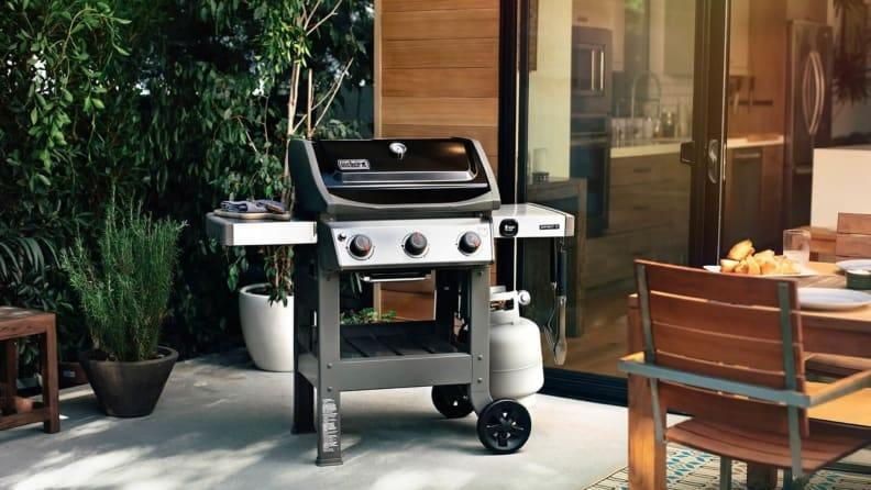 Don't be fooled by its compact size--this grill packs a punch!