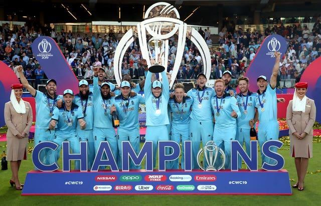 England won the Cricket World Cup final against New Zealand in 2019