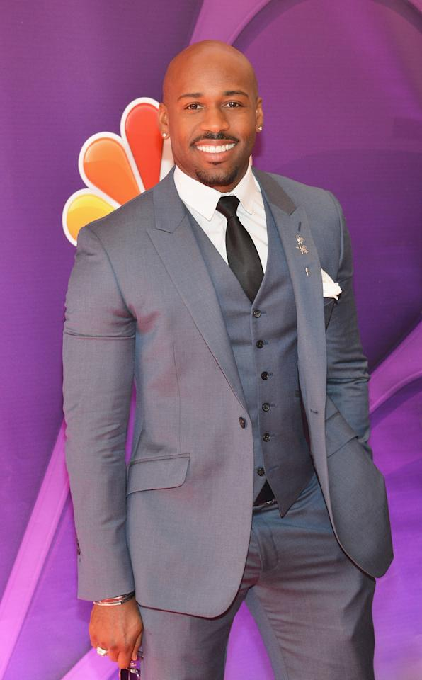 NEW YORK, NY - MAY 13:  Actor Dolvett Quince attends 2013 NBC Upfront Presentation Red Carpet Event at Radio City Music Hall on May 13, 2013 in New York City.  (Photo by Slaven Vlasic/Getty Images)