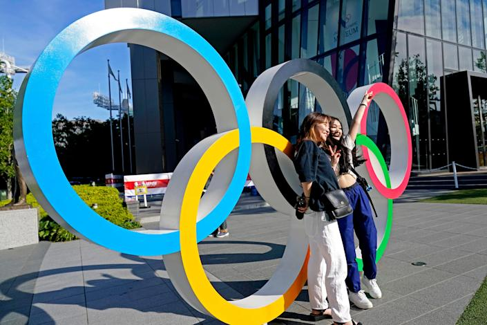 The Olympics kicked off in Tokyo on Friday.