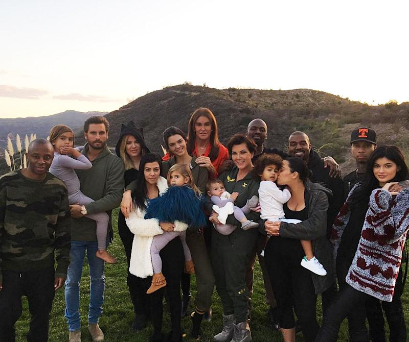 "It may have been taken just three years ago, but this one's a real throwback: The 2015 edition of the Kardashian-Jenner Thanksgiving saw the ""blended family,"" as Kylie Jenner put it in the caption of the photo above, come fully together, with nearly everyone's then-partner present—including Kylie's now ex Tyga, and Kourtney Kardashian's then recent ex, Scott Disick. Not only did Kanye also show up to Khloé's house, but so did his big ole grin."