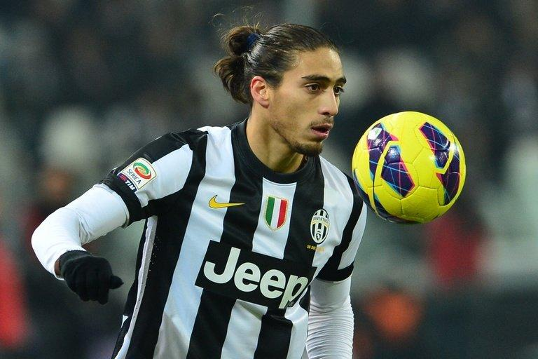 Juventus' Uruguayan defender Martin Caceres, pictured in Turin, on January 26, 2013