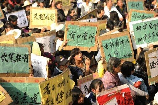 The 13,000 residents of Wukan, in the wealthy province of Guangdong, are in open revolt against officialdom