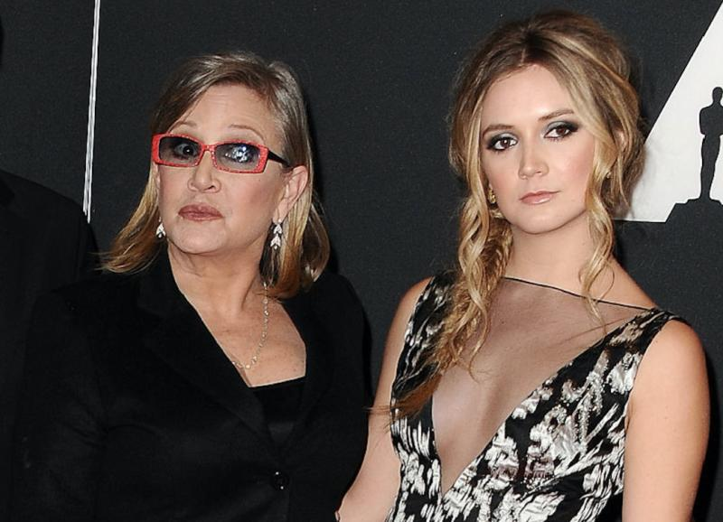 Billie Lourd was raised without gender because Carrie Fisher was the most badass mom ever