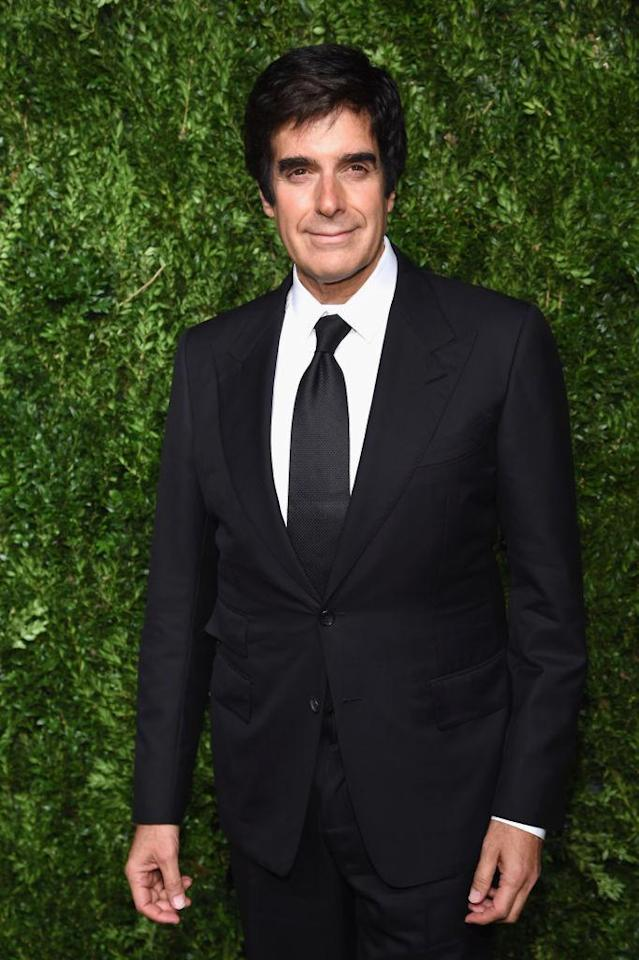 David Copperfield appears at an event on Nov. 6, 2017, in New York City. (Photo: Dimitrios Kambouris/Getty Images)