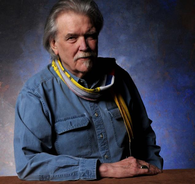 "This undated publicity image released by Dualtone Records shows musician Guy Clark. Clark, the West Texas writer who penned such hits as ""LA Freeway,"" and ""Desperados Waiting for a Train,"" has physically slowed down at the age of 71, but his new album ""My Favorite Picture of You,"" proves his skills as a country music poet are still sharp. (AP Photo/Dualtone)"