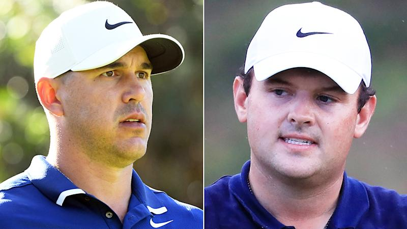 US golfer Brooks Koepka, pictured left, has taken another swipe at rival Patrick Reed, who was dogged by accusations of cheating last season.