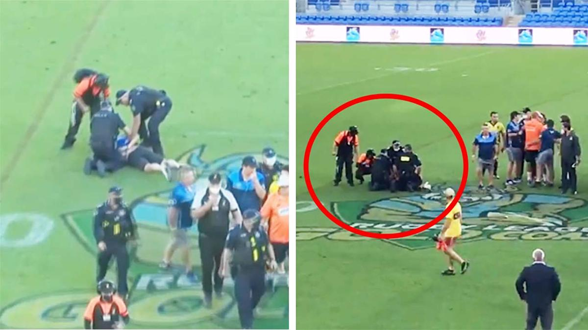 Spectator allegedly 'king hits' referee after grand final loss