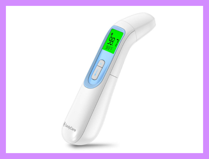 This infrared thermometer works in seconds! (Photo: Amazon)