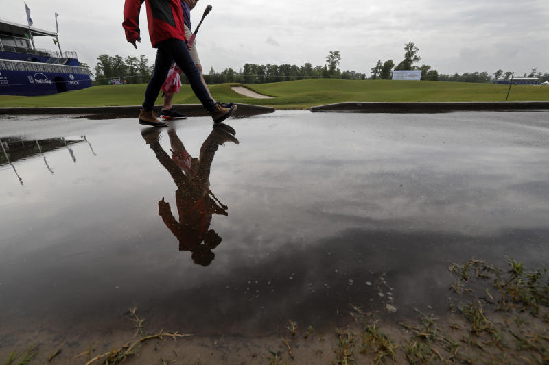 Weather halts first-round play at PGA Tour's Zurich Classic