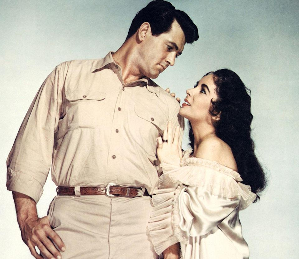 <p>This year, Hudson and Elizabeth Taylor teamed up for the film <em>Giant</em>. The movie led to Hudson's only Academy Award nomination. He lost to Yul Brynner and his performance in <em>The King and I</em>.</p>