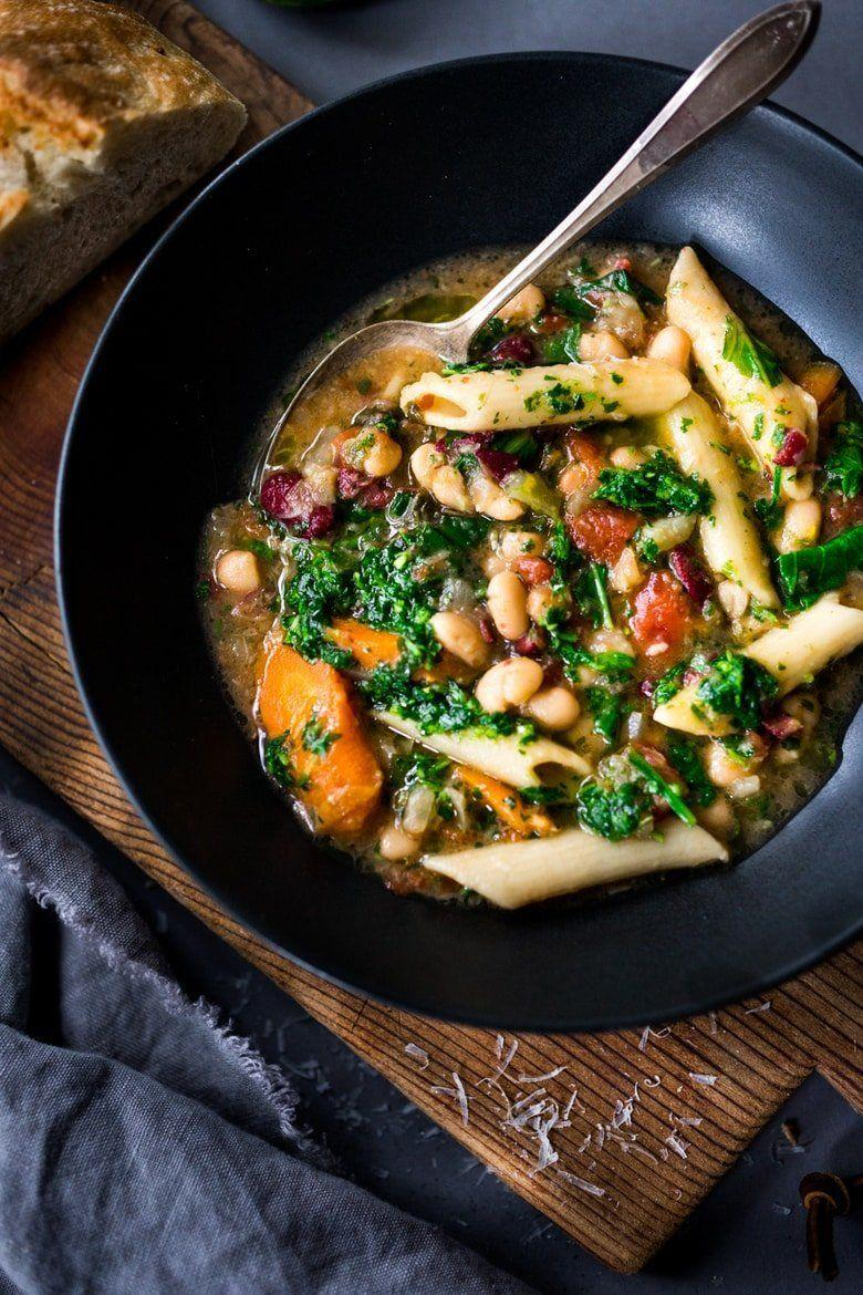 "<strong>Get the <a href=""https://www.feastingathome.com/instant-pot-minestrone/"" target=""_blank"" rel=""noopener noreferrer"">Instant Pot Minestrone</a> recipe from Feasting At Home.</strong>"