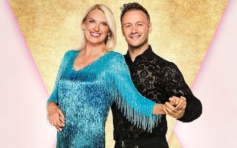 Anneka Rice and Kevin Clifton were the second couple to be voted off in Strictly Come Dancing 2019