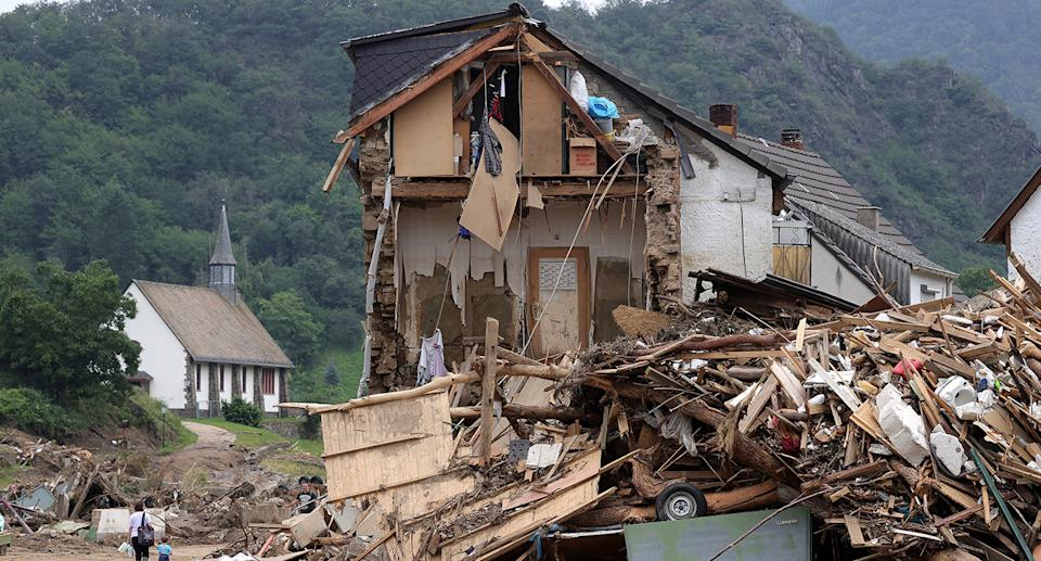 Hundreds are still missing after ferocious floods hit Germany and surrounding countries. Source: AP