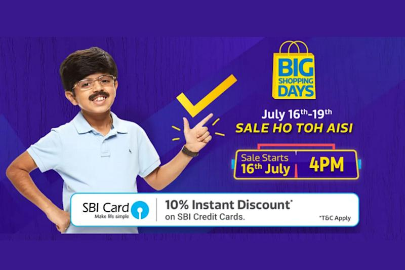 Flipkart Big Shopping Days Sale: Gets Underway at 4 PM Today, Glimpse of Deals And Offers
