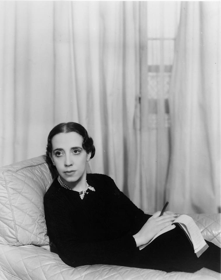 """<p><a href=""""https://www.crfashionbook.com/culture/a27450778/cr-muse-elsa-schiaparelli/"""" target=""""_blank"""">Elsa Schiaparelli</a> was born on Sept. 10, 1890 in Rome, Italy. Known as a Surrealist, comedian, and fashion visionary, her groundbreaking designs were unmatched. She merged fashion and art, mixing unusual shapes with fabrics in a way no designer had done before. Clothing became an extension of her personality. Hailed as the Godmother of avant-garde, she invented the now commonplace artist collaboration, frequently inspiring and working with Surrealist artist Salvador Dalí. Although her house closed in 1954, it was revived in 2012. Throughout the course of its history, notable figures influenced the house's work, ensuring the longevity of Schiaparelli's legacy.</p>"""