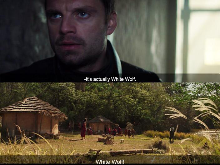 the falcon and the winter soldier 102 detail white wolf black panther reference