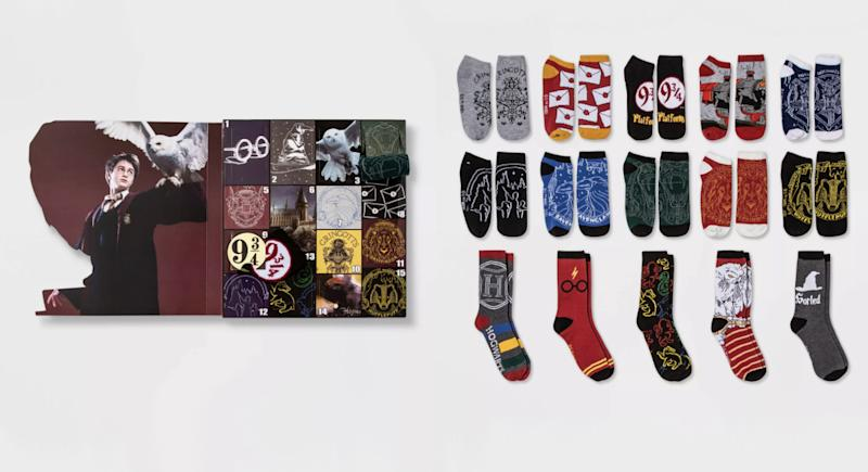Harry Potter owl socks (Photo: Target)