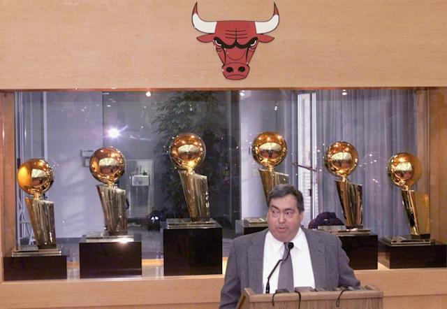 <p>Jerry Krause (1939-2017): Architect of six Chicago Bulls championships. </p>