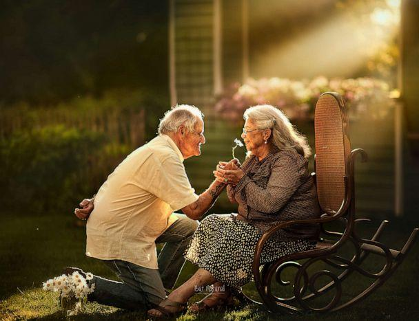 PHOTO: Longtime couples captured in an engagement style shoot. (Sujata Setia/But Natural Photography)