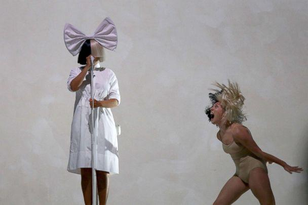 PHOTO: Singer SIA and dancer Maddie Ziegler perform on stage at Mt Smart Stadium, Dec. 5, 2017, in Auckland, New Zealand. (Dave Simpson/WireImage/Getty Images)