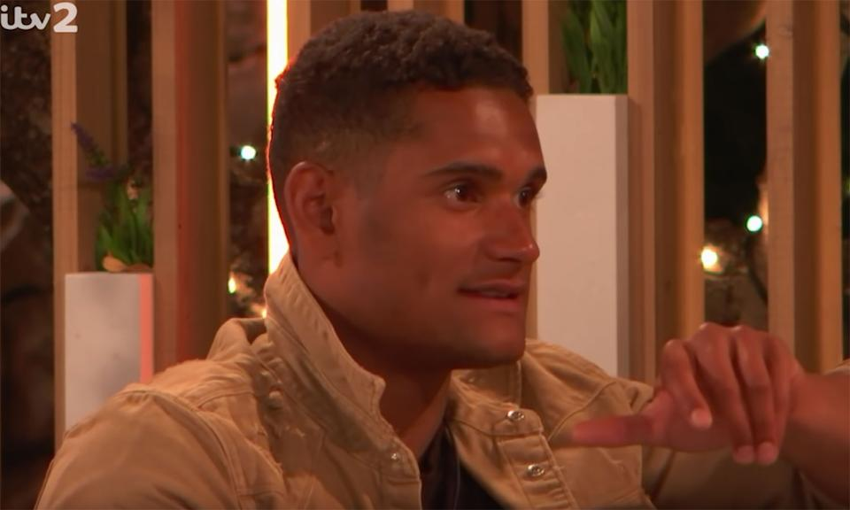 Some viewers were concerned about contestants' behaviour toward Danny Williams. (ITV)