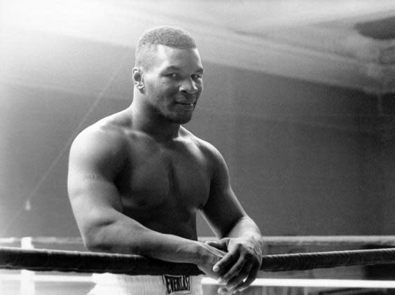 Mike Tyson was once lineal heavyweight champion of the world (Rex)