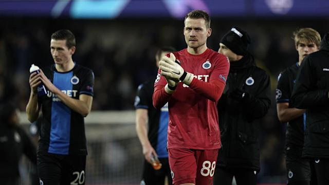 The goalkeeper won the Champions League with the Reds last summer, but joined Belgian side Club Brugge just two months later