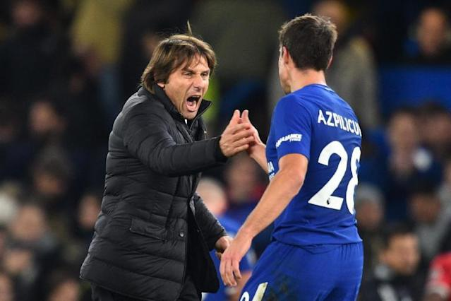 Chelsea players fully behind Antonio Conte and 'fighting hard' for boss, says Cesar Azpilicueta