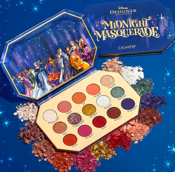 """$22, ColourPop. <a href=""""https://colourpop.com/products/midnight-masquerade"""">Get it now!</a>"""
