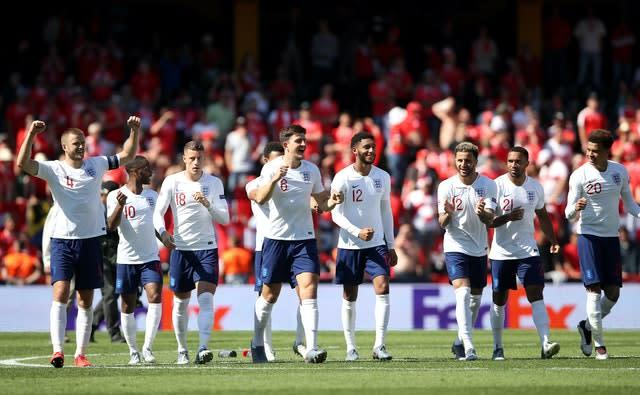 England finished third in the inaugural Nations League (Tim Goode/PA)