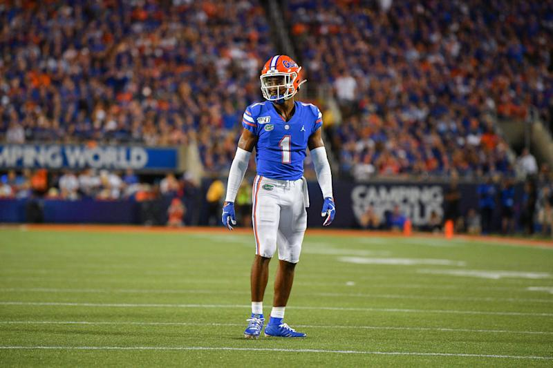 Florida CB CJ Henderson is a talented cover man who looked bad tackling last week. (Getty Images)