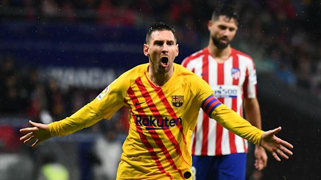 Lionel Messi has already scored in every stadium of La Liga Santander after his last goal at the Wanda Metropolitano